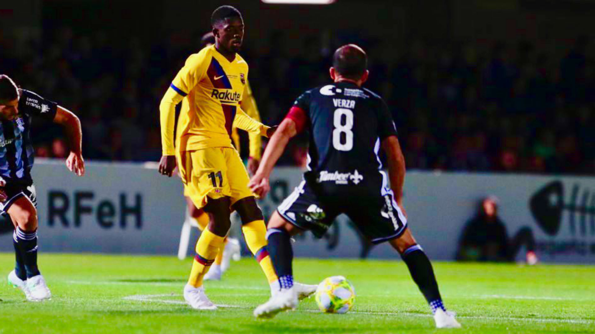 Puig impresses as Barcelona beat Cartagena in charity match