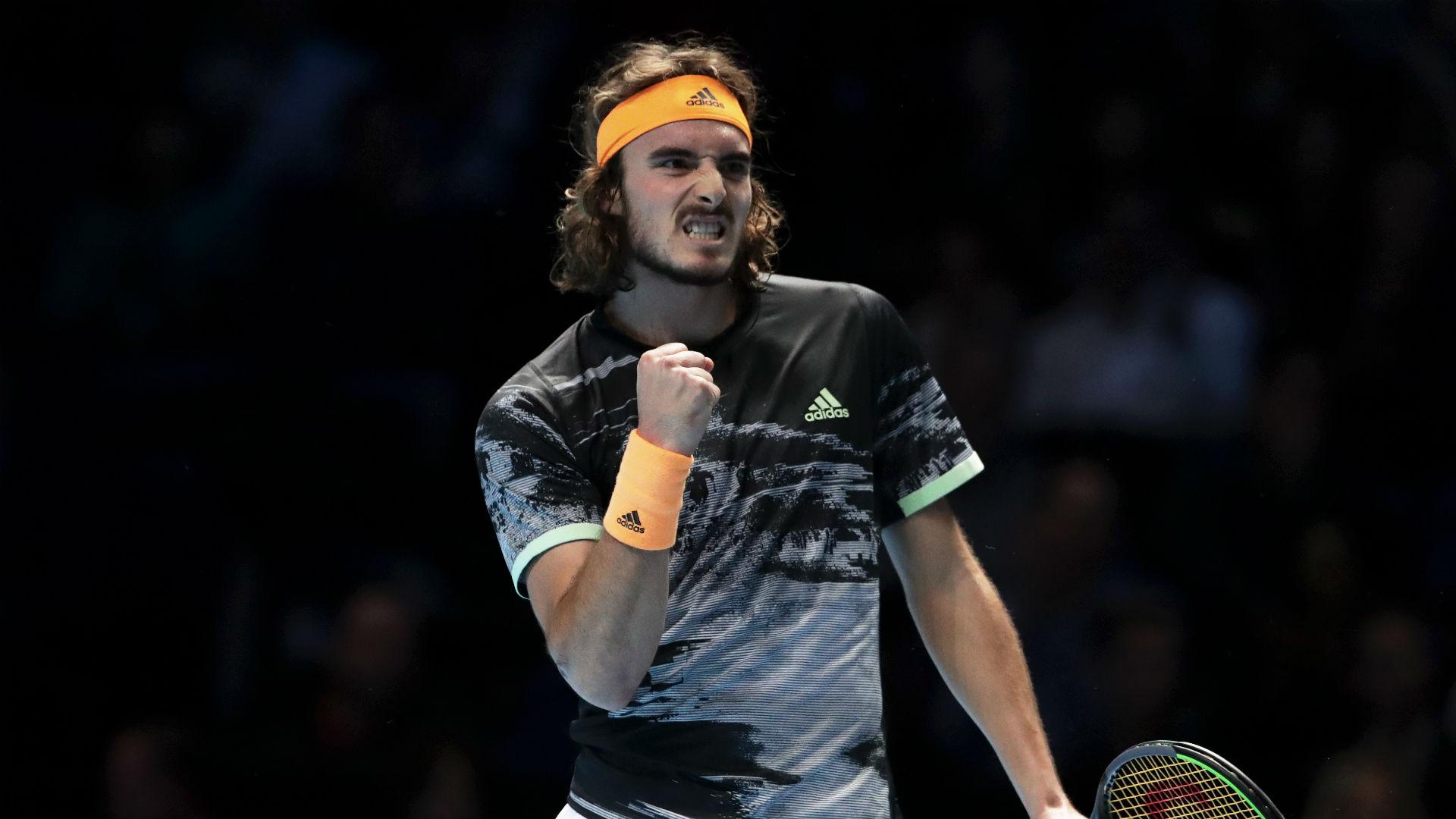 Tsitsipas beats defending champion Zverev to progress at ATP Finals