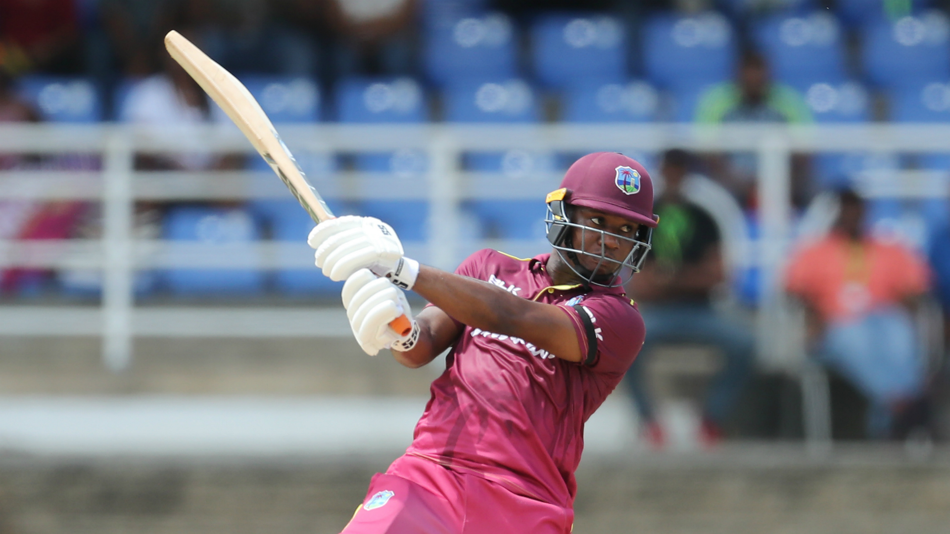 Lewis hits six sixes as West Indies beat Afghanistan again