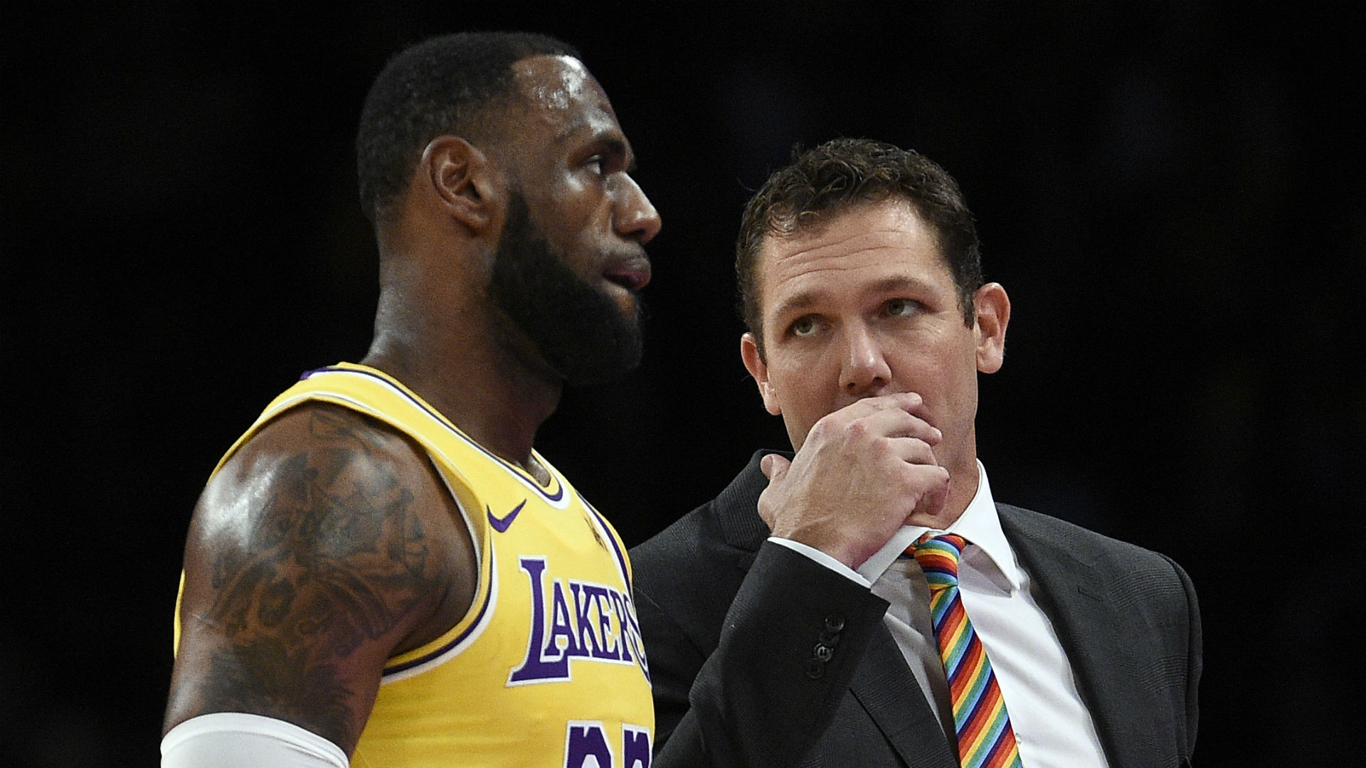 LeBron James: Walton did all he could with Lakers