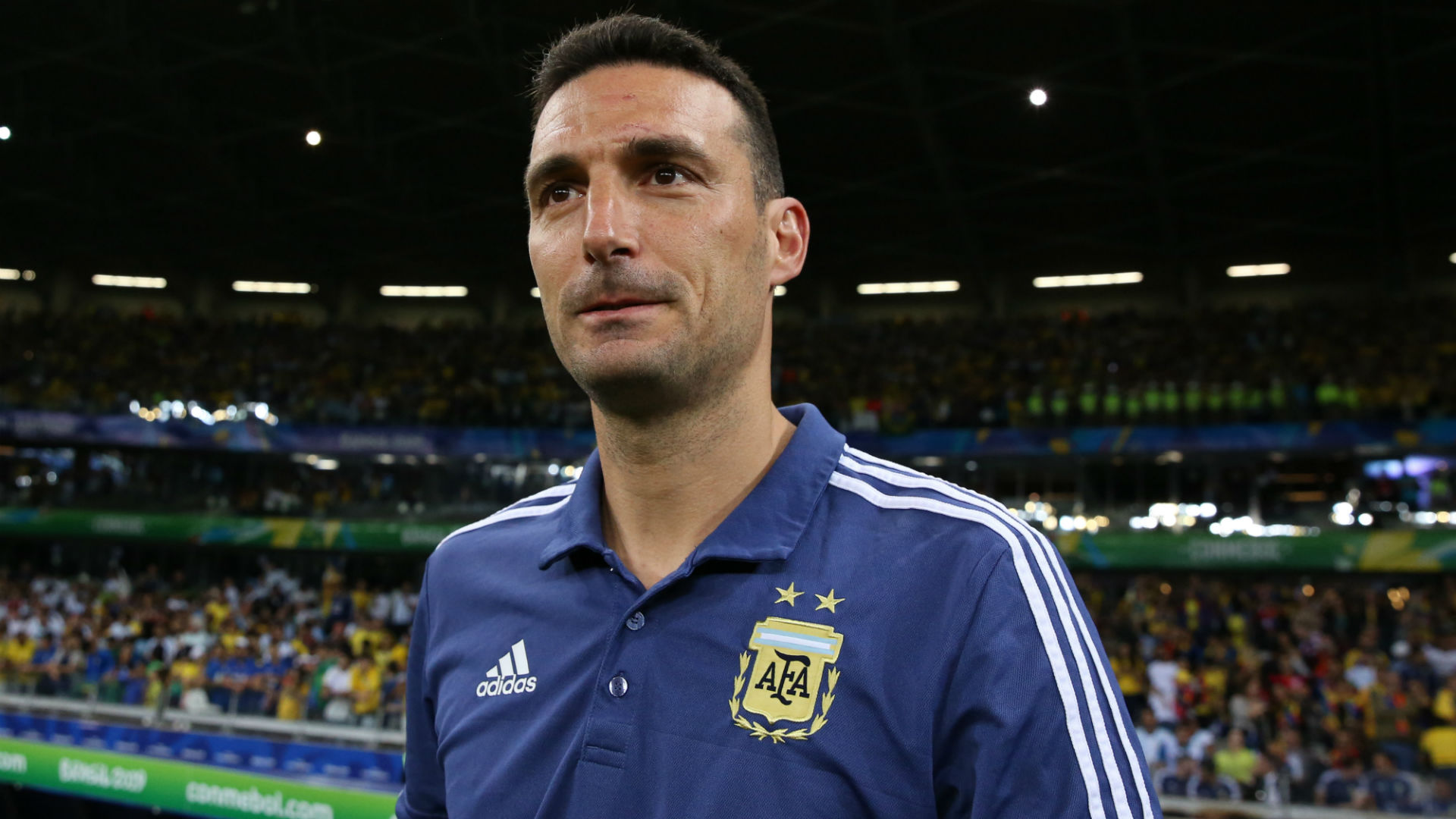 Scaloni credits Argentina players for giving 'their lives for the shirt' against Brazil
