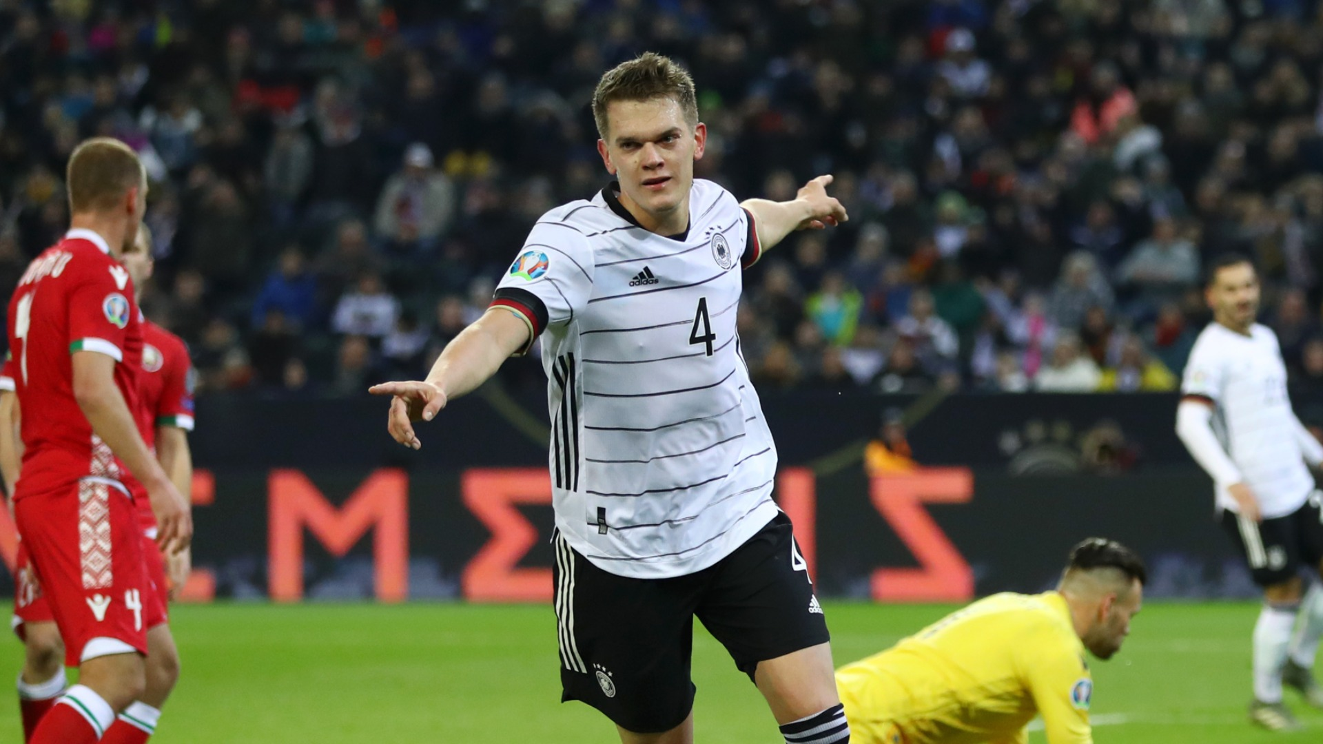 Germany 4-0 Belarus: Qualification clinched in comfortable home win