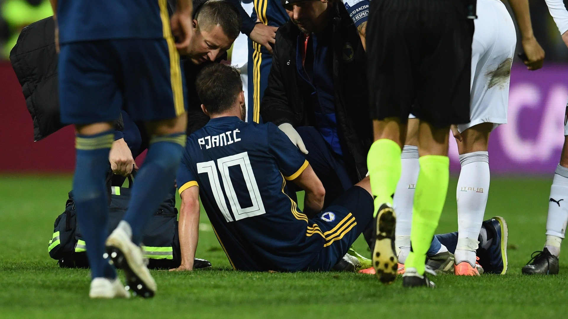 Bosnia confirm Pjanic injury against Italy