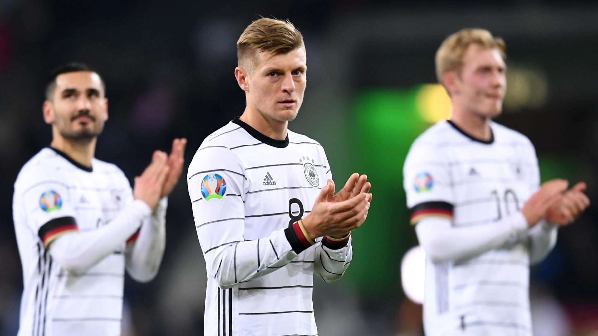 Inexperienced Germany not among Euros contenders - Kroos