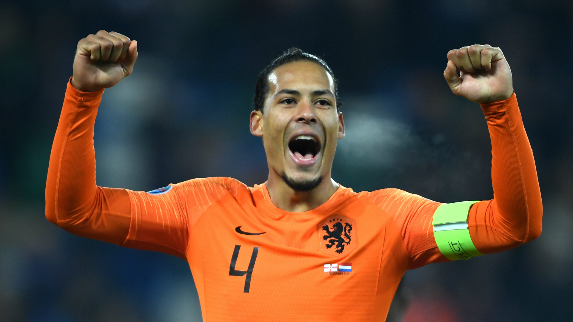 Van Dijk thrilled as Netherlands end big-stage absence by reaching Euro 2020