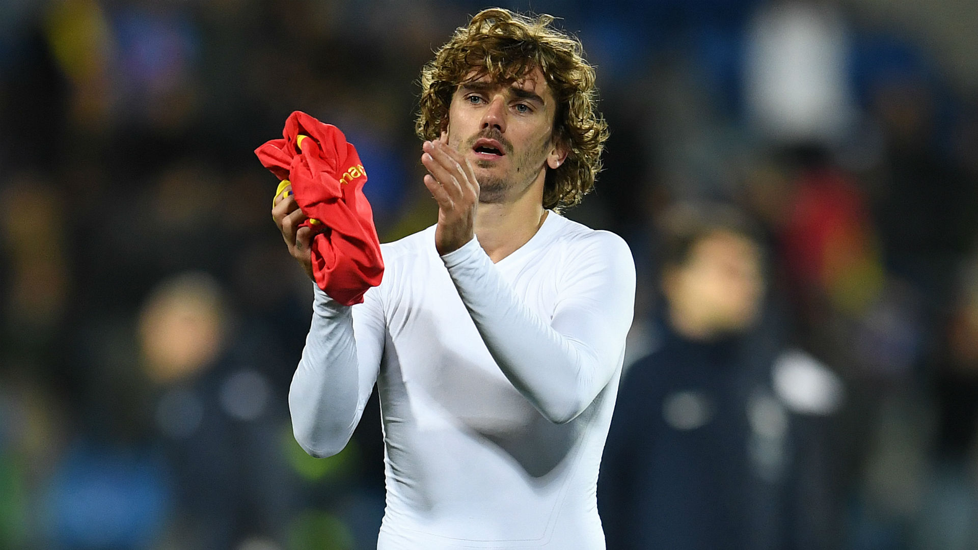 Albania 0-2 France: Griezmann to the fore in Deschamps' 100th match