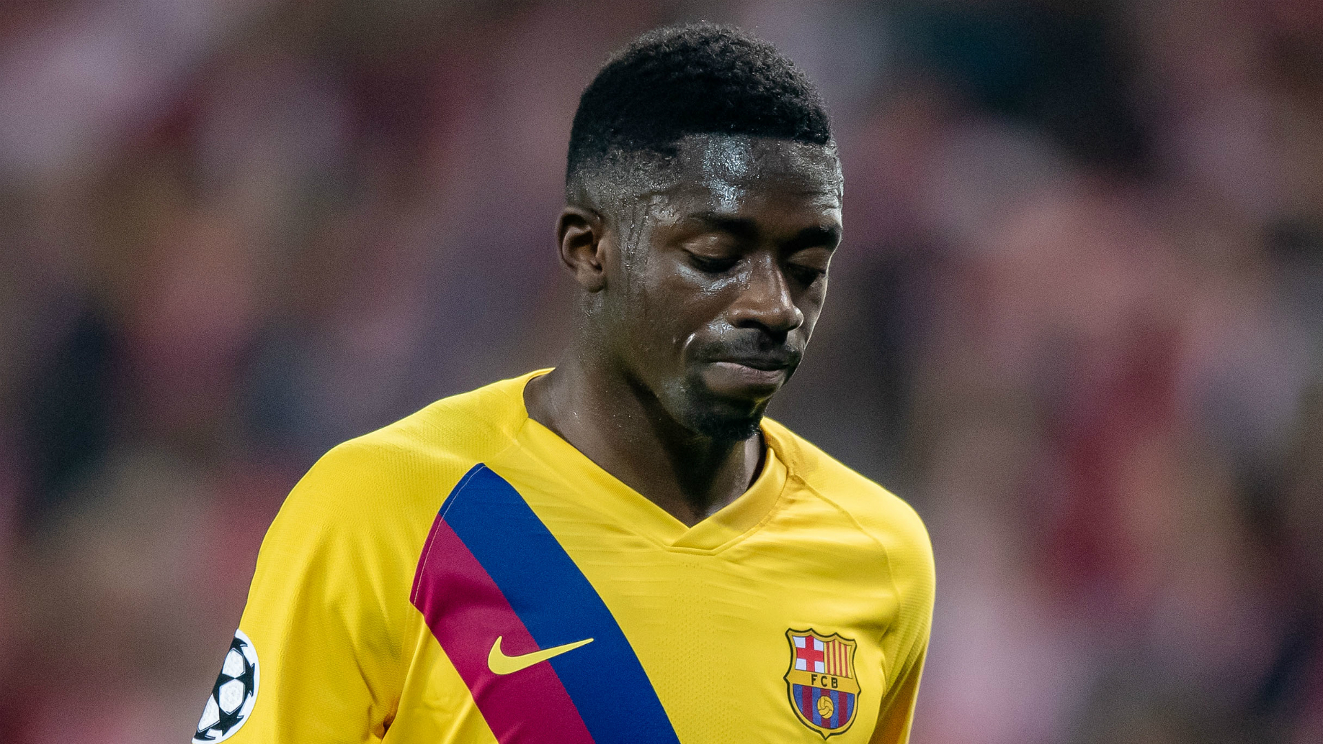 Dembele left out of Barcelona squad for trip to Levante