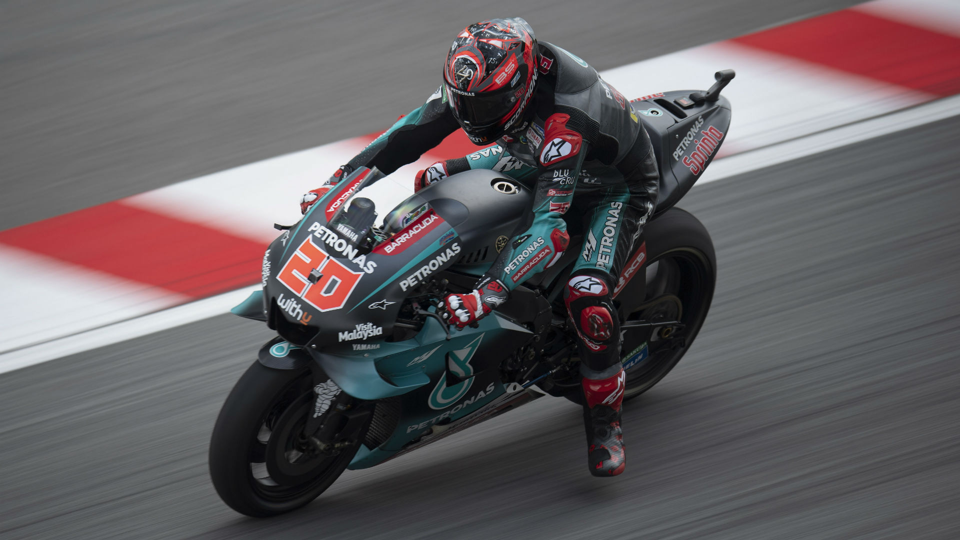 Quartararo leads Yamaha front-row lockout, Marquez crashes in Sepang