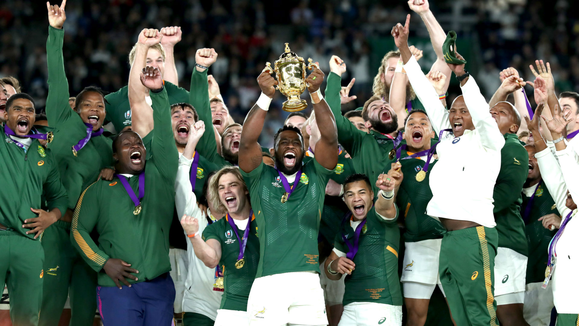 Rugby World Cup 2019: Kolisi says RWC win shows South Africa can 'achieve anything if we work together'