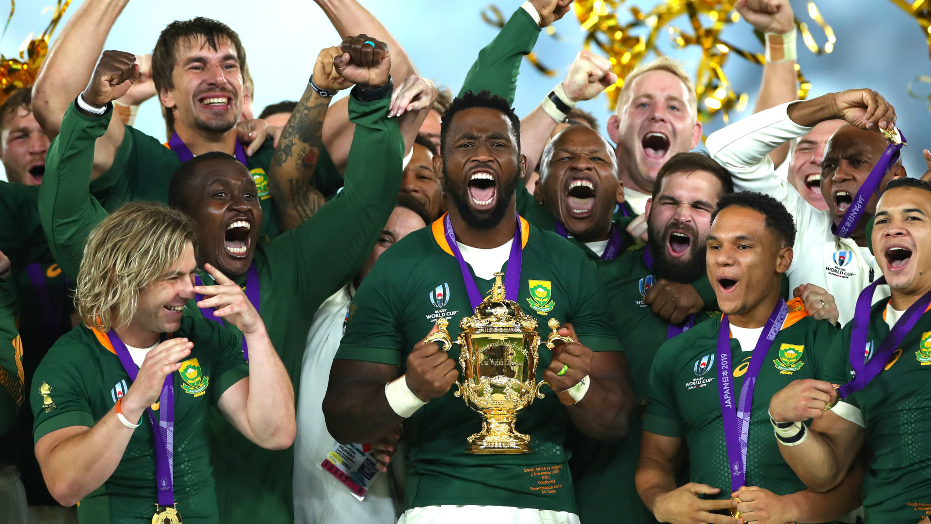 Rugby World Cup 2019: Pollard delight at 'truly historic' South Africa triumph