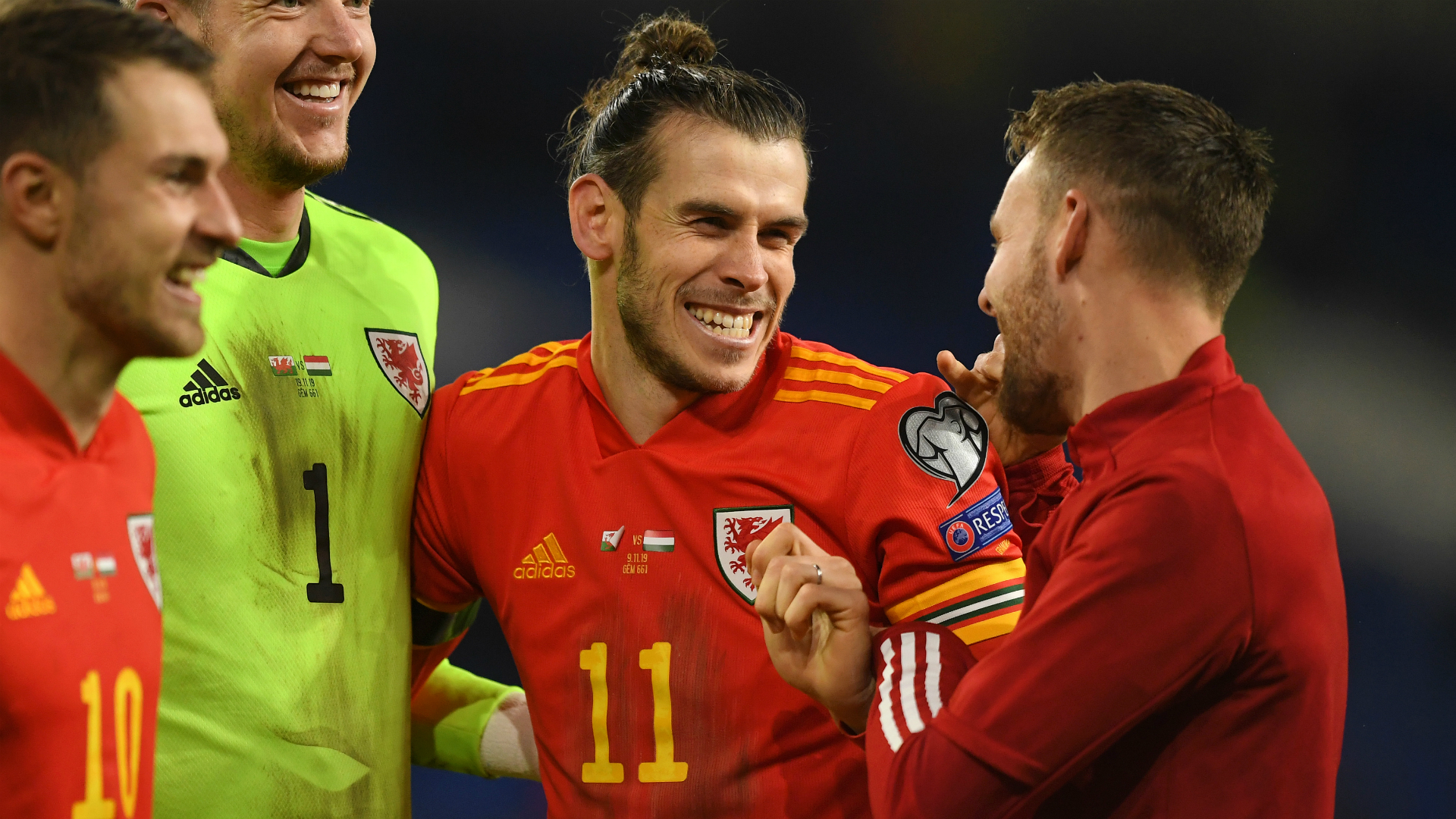 Wales, golf, Madrid... in that order – Bale celebrates Euro 2020 qualification