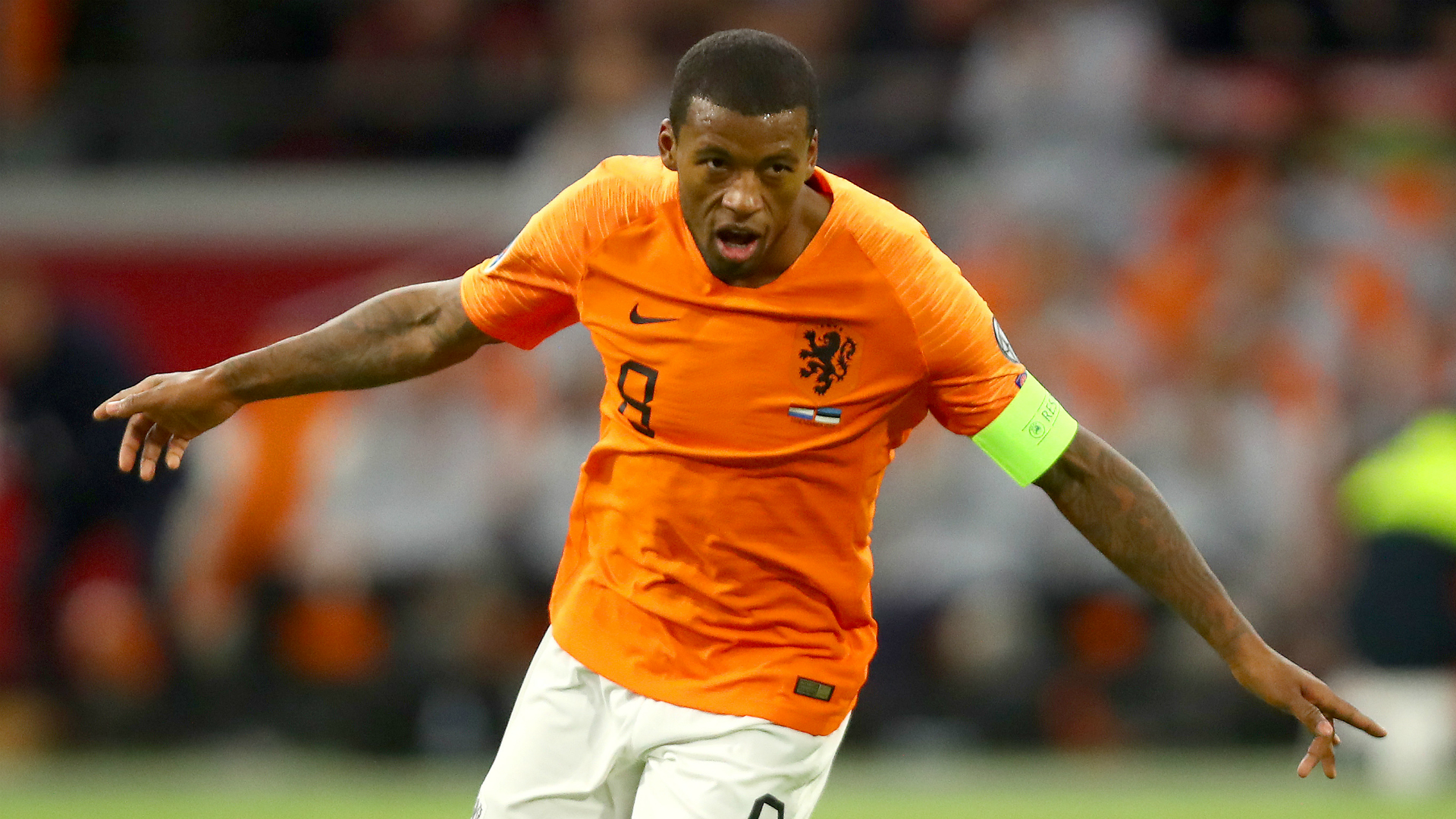 Netherlands 5-0 Estonia: Wijnaldum hat-trick helps Koeman's men bounce back
