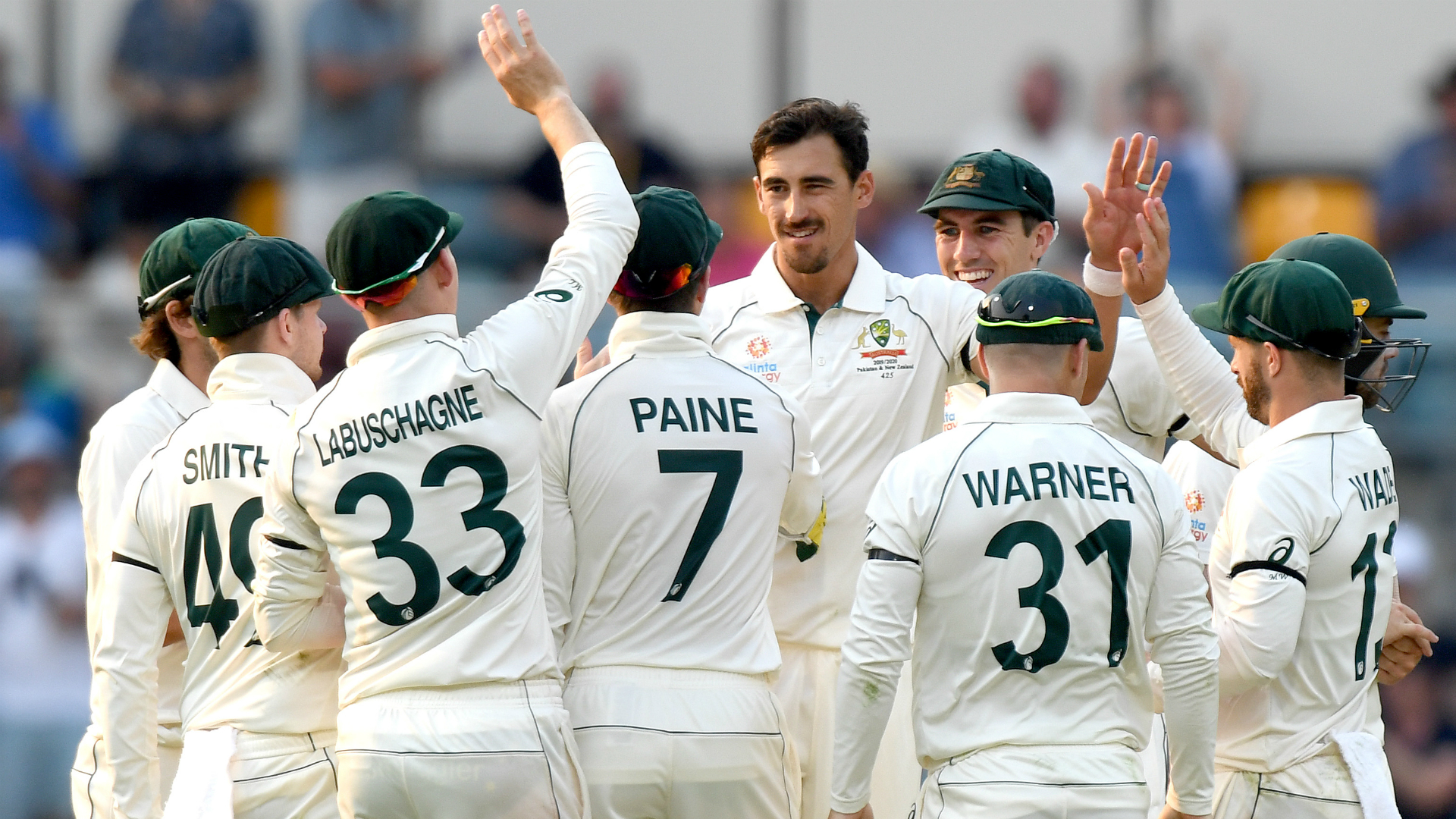 Starc and Cummins strike to bowl Pakistan out for 240