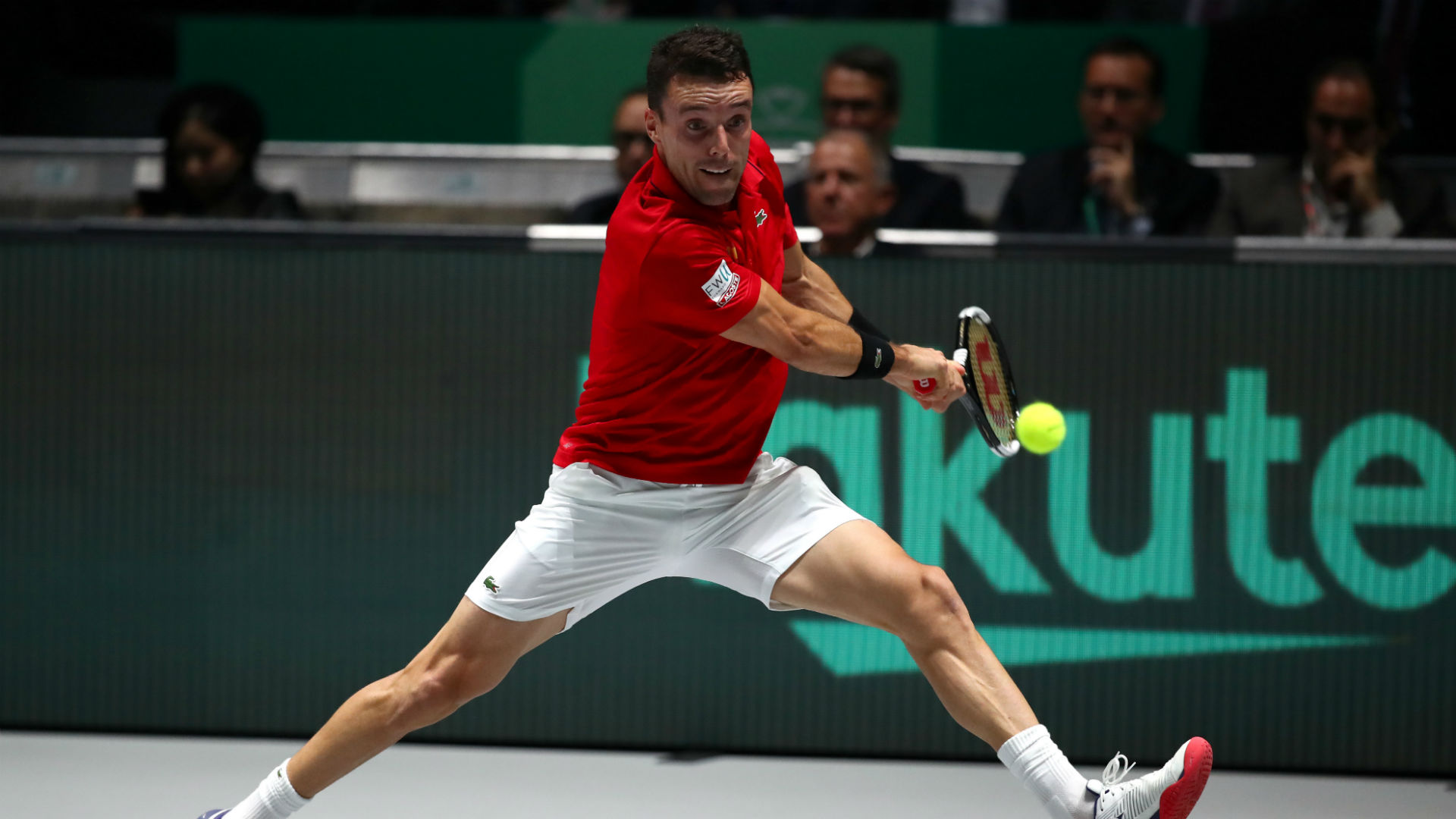Bautista Agut withdraws from Spain's Davis Cup team after the death of his father