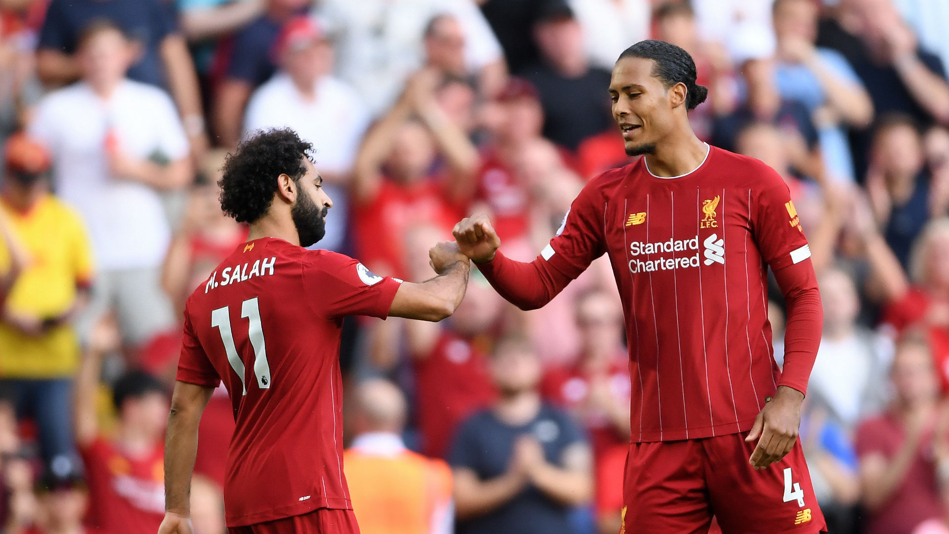 Klopp confident on Van Dijk but Salah to be assessed ahead of Crystal Palace clash