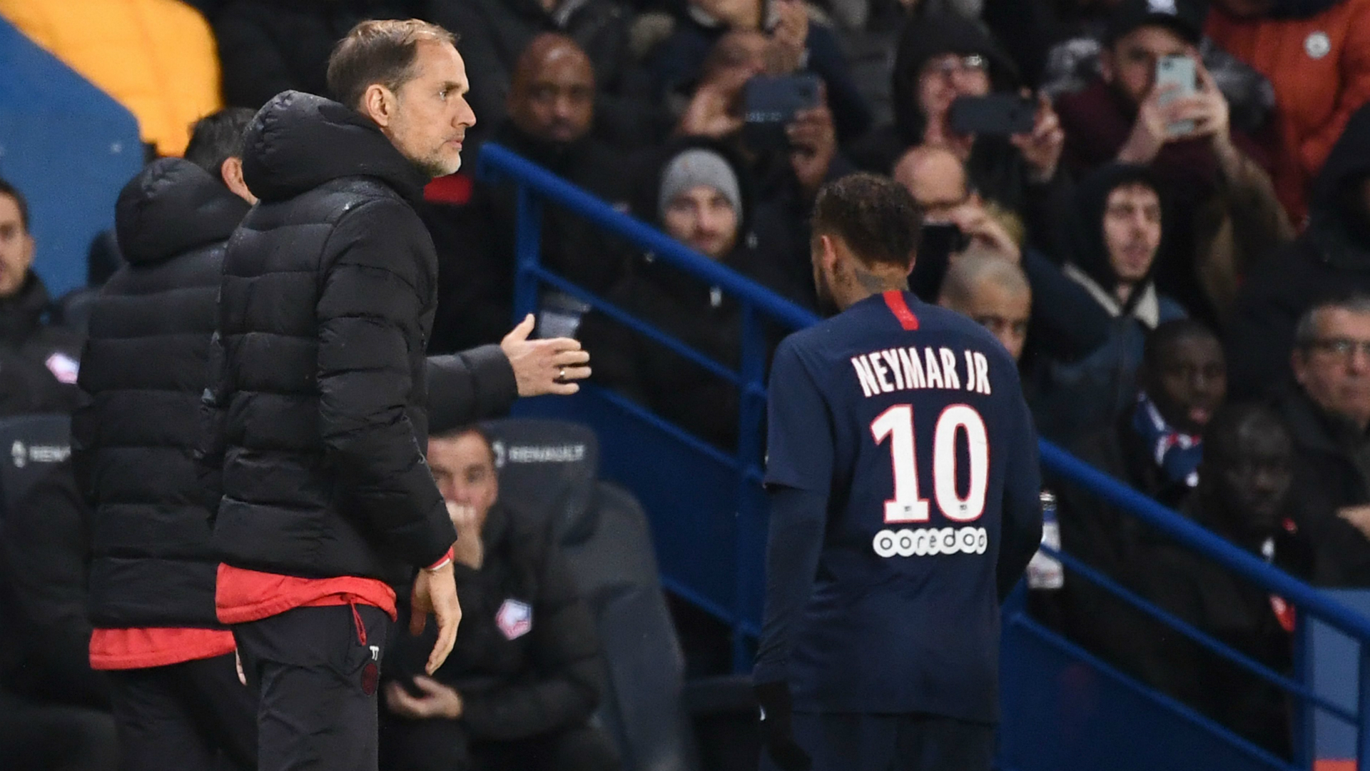 Tuchel not worried about Neymar after 'bad performance' against Lille