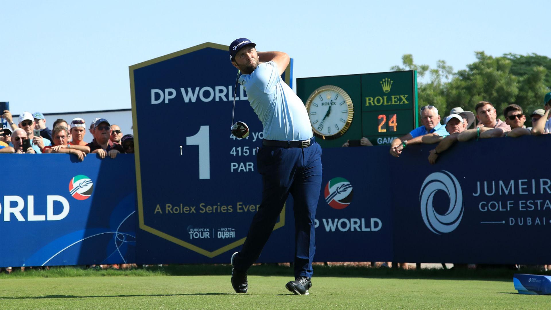 Magnificent Rahm poised for Dubai double