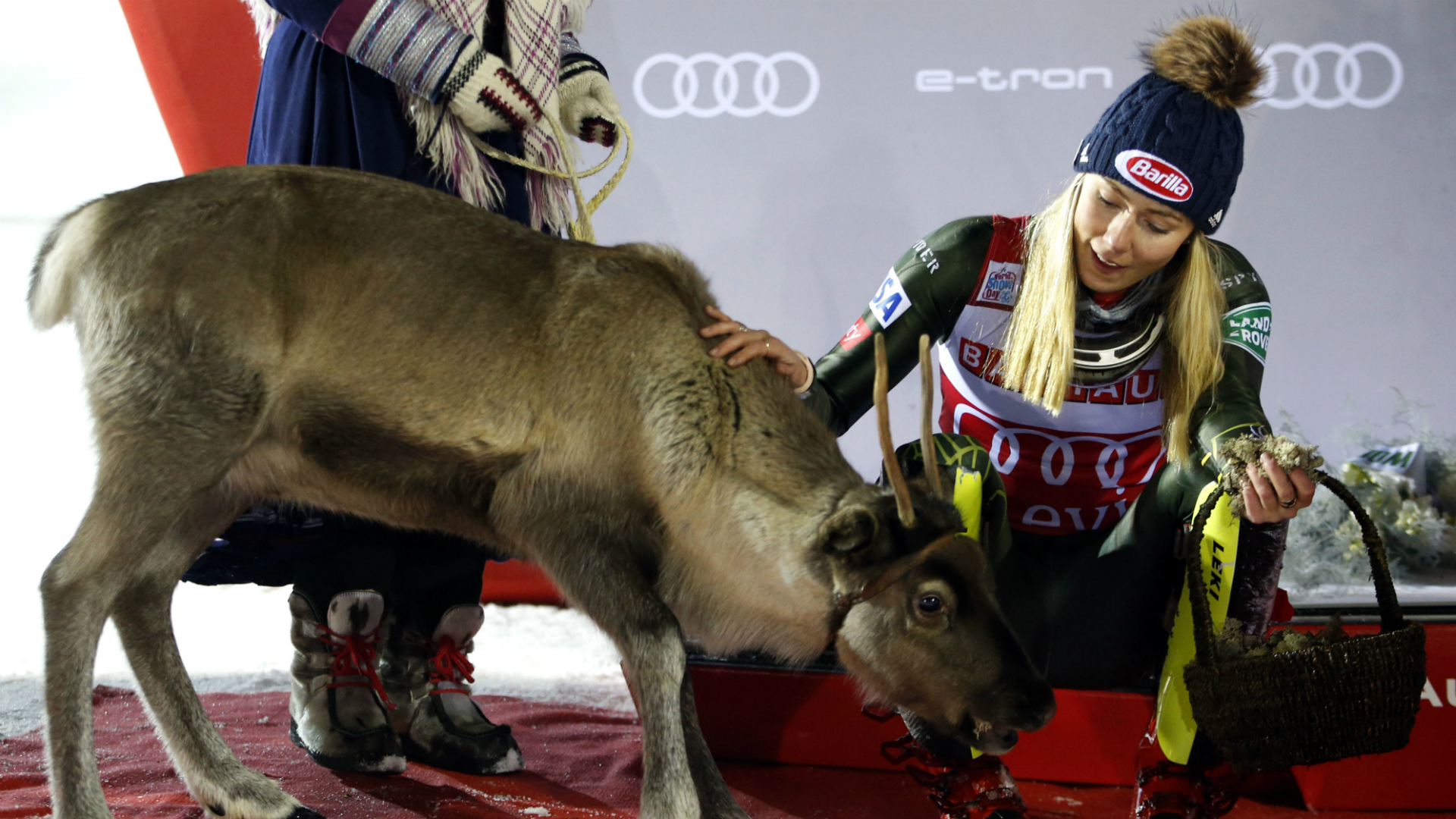Look out Santa! Record-breaking Shiffrin wins fourth reindeer in Levi