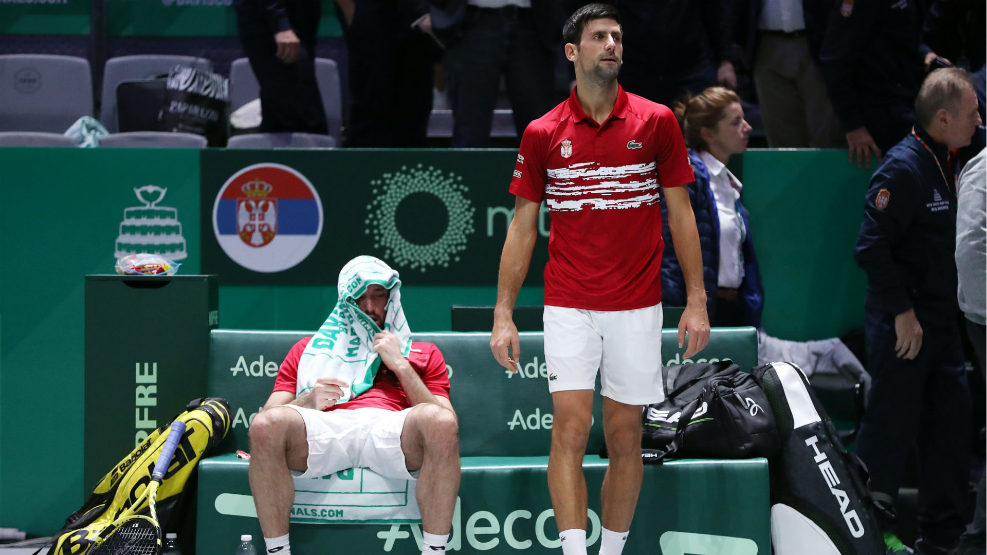 Tearful Troicki says sorry as Serbia suffer heartbreaking Davis Cup defeat