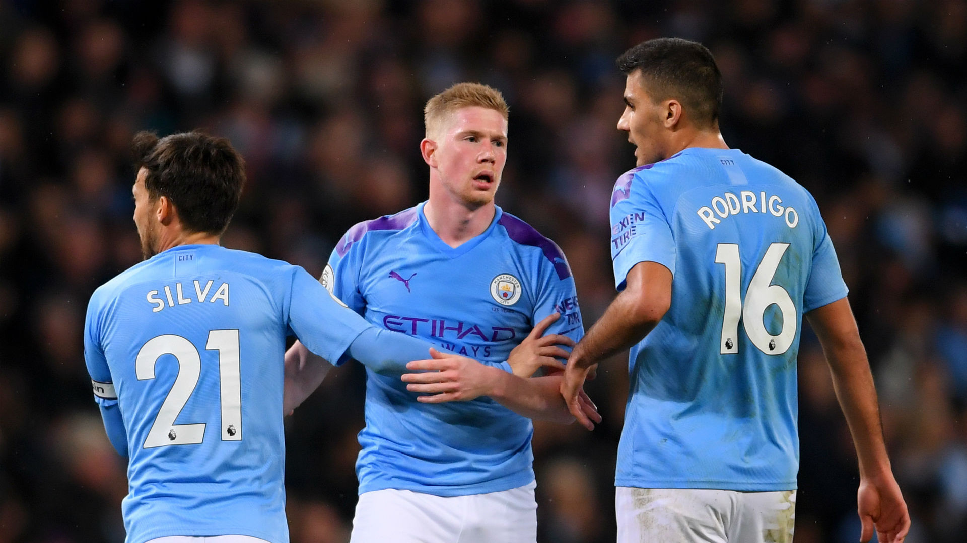 De Bruyne sees himself as a leader at Manchester City