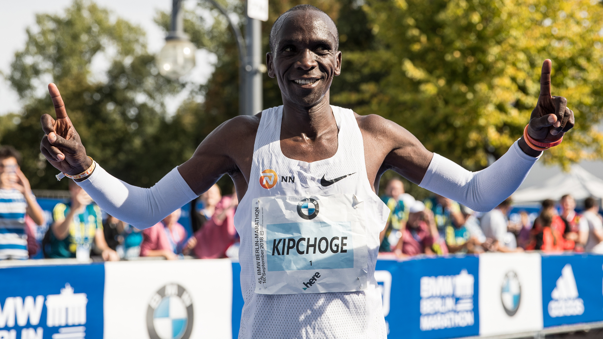 Kipchoge and Muhammad scoop World Athlete of the Year awards