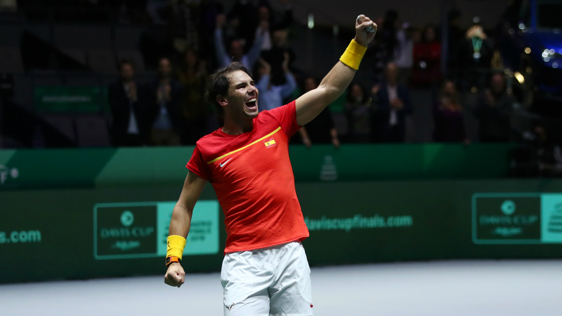 Nadal and Lopez lead hosts Spain through to Davis Cup final