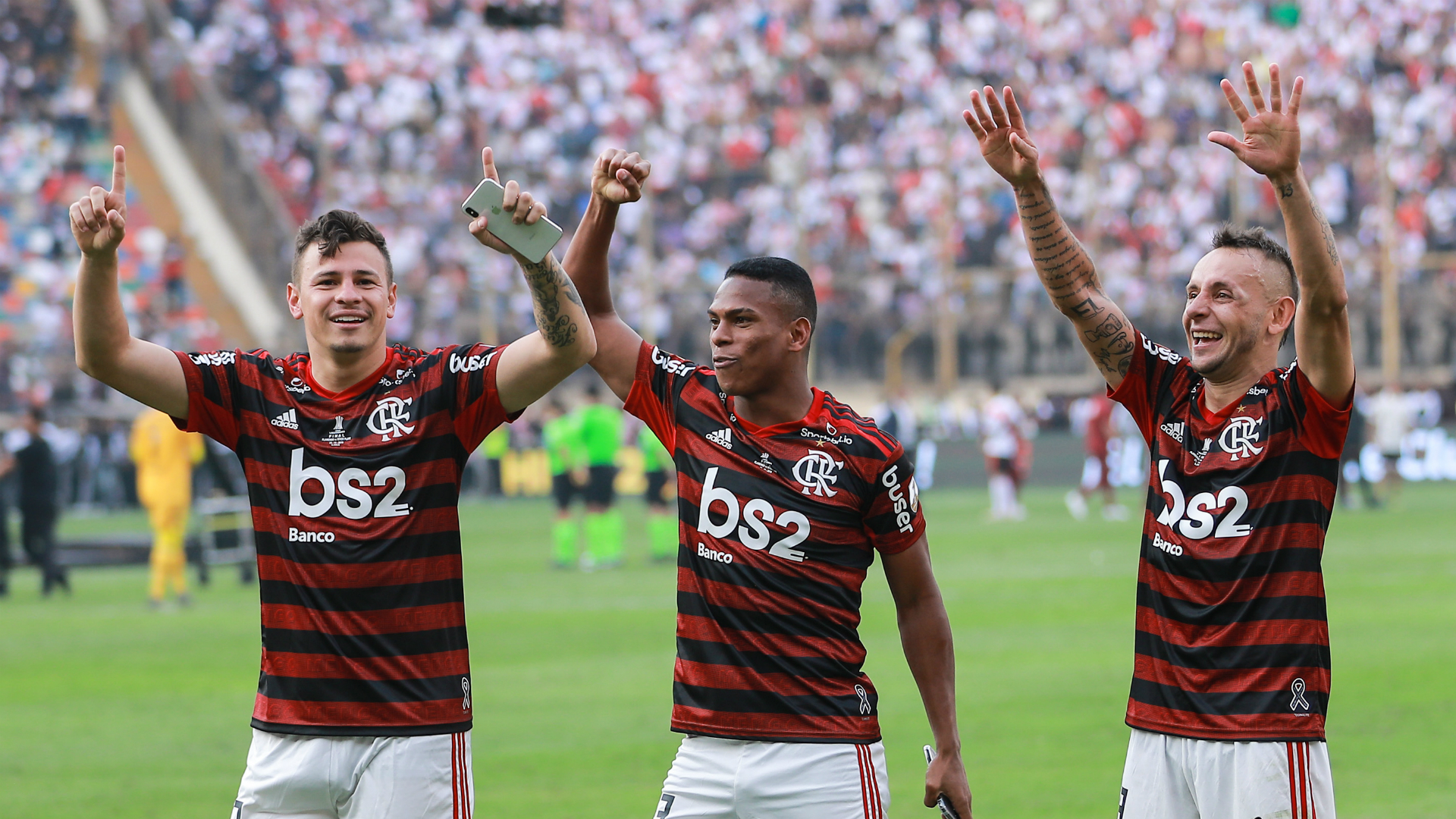 Copa Libertadores kings Flamengo add league title to complete historic double