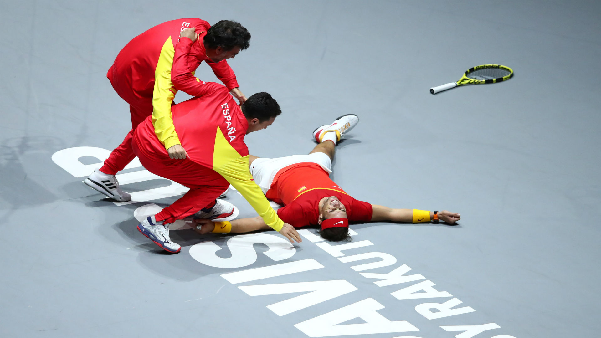 Nadal and Bautista Agut seal emotional Davis Cup triumph for Spain