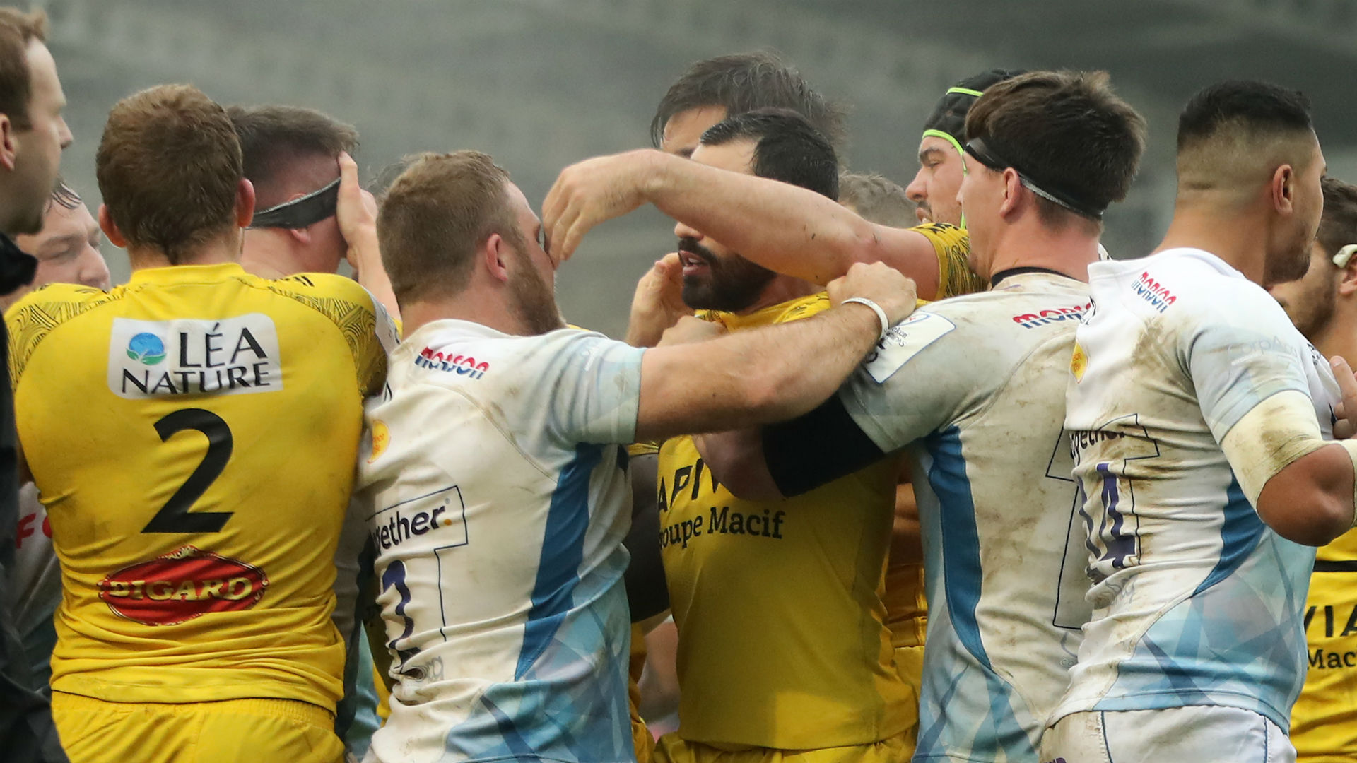 Bourgarit's eye-gouge on Curry costs La Rochelle, 14-man Montpellier beat Gloucester
