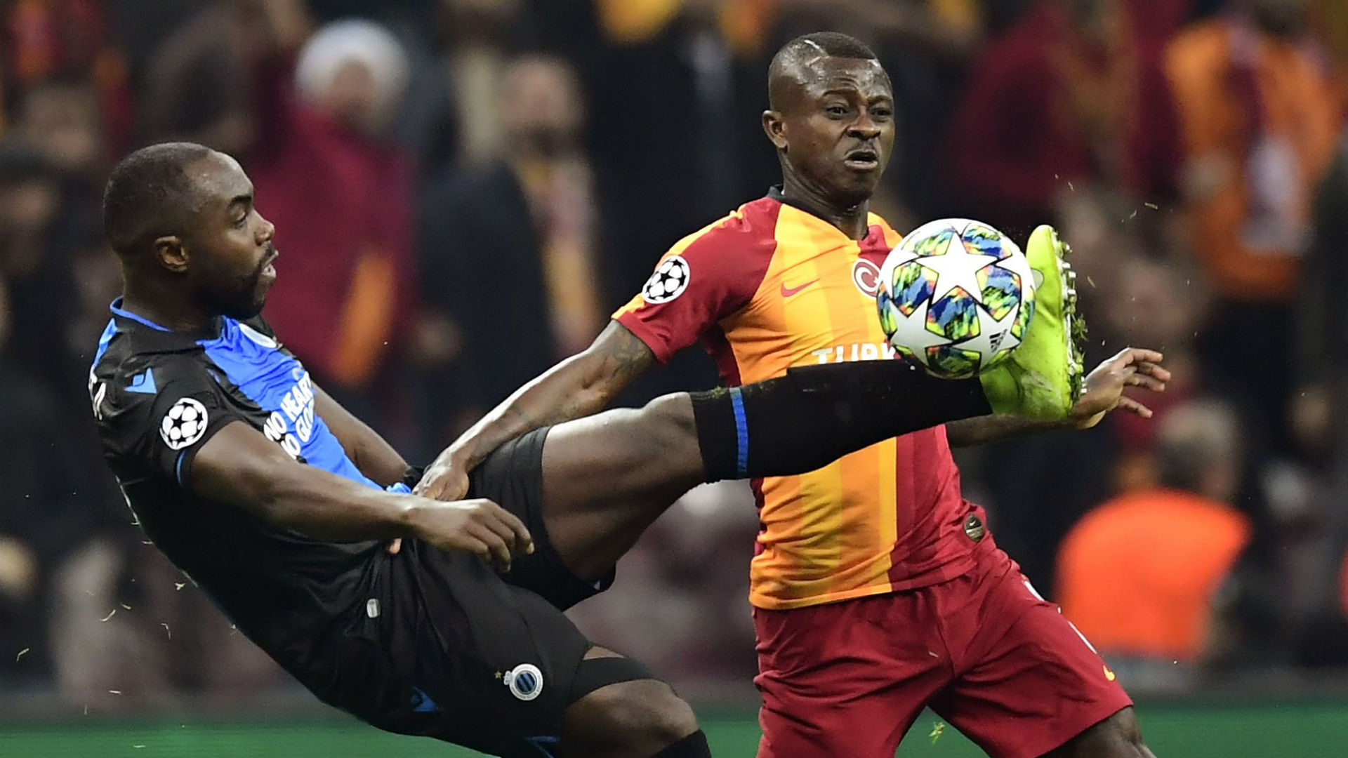 Galatasaray 1-1 Club Brugge: Late drama in Istanbul as draw sends Real Madrid through