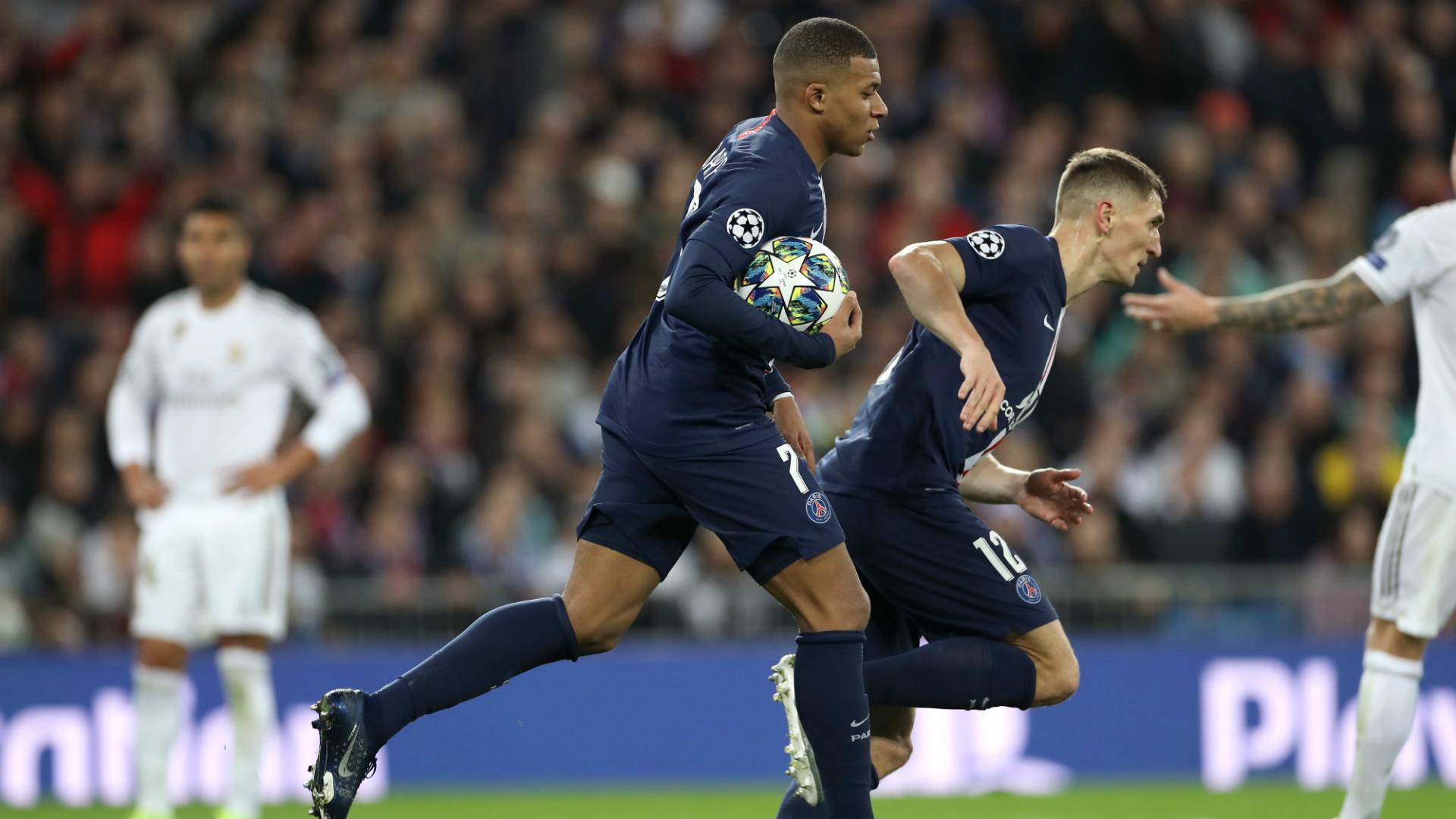 Real Madrid 2-2 Paris Saint-Germain: Mbappe and Sarabia late show seals top spot