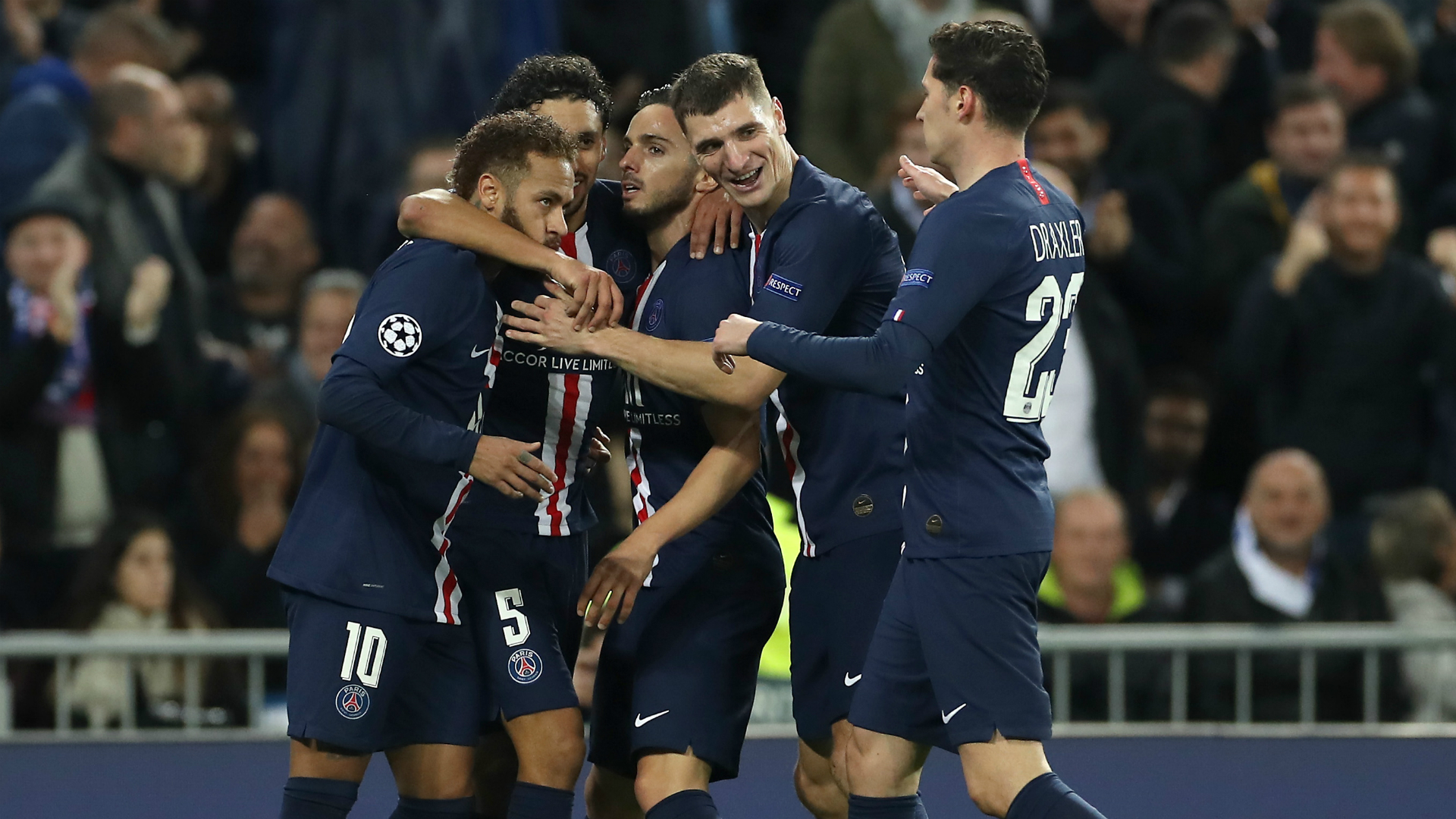 Sub-plots old and new on display in barnstorming Real Madrid-PSG classic