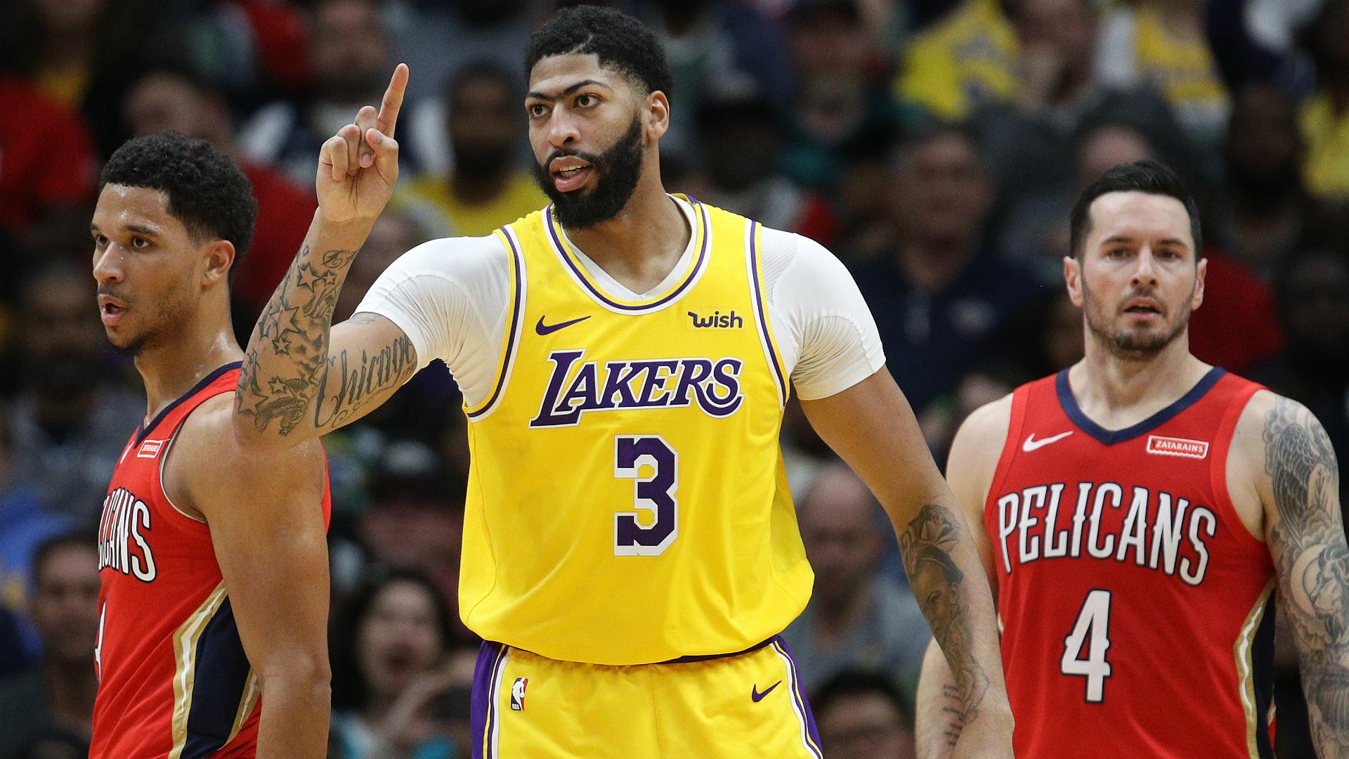 Davis enjoys winning return to New Orleans as Lakers stay hot, Walker scores 39