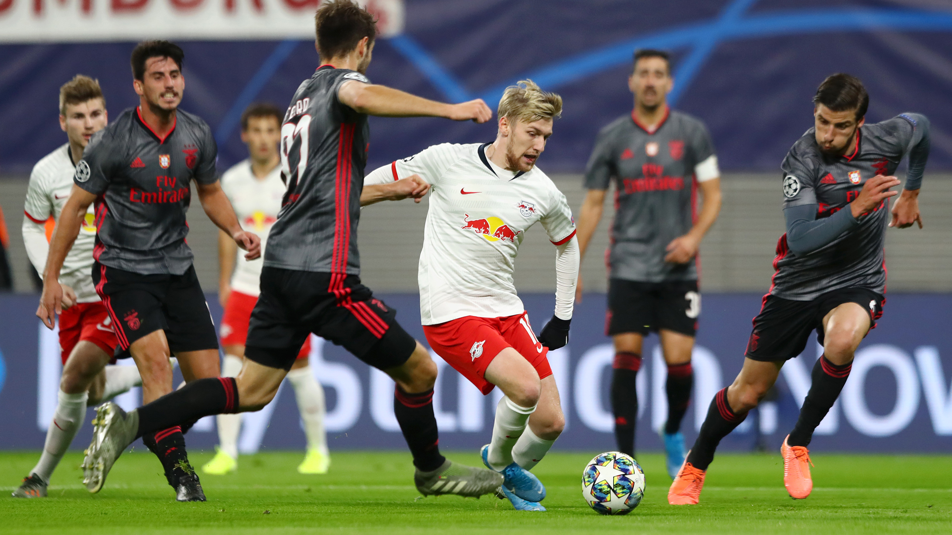 RB Leipzig 2-2 Benfica: Late Forsberg double sends hosts through to last 16