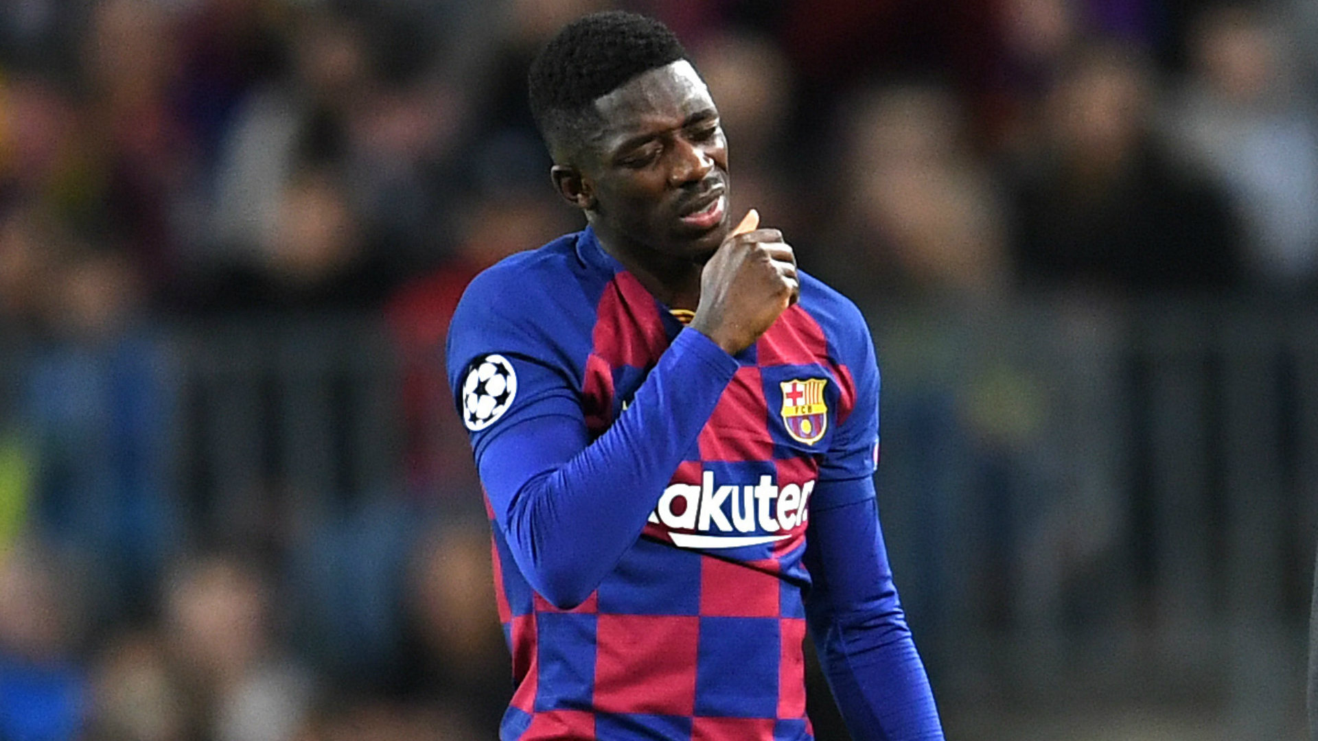 Suarez tells Dembele and doctors to solve Barcelona winger's injury problems