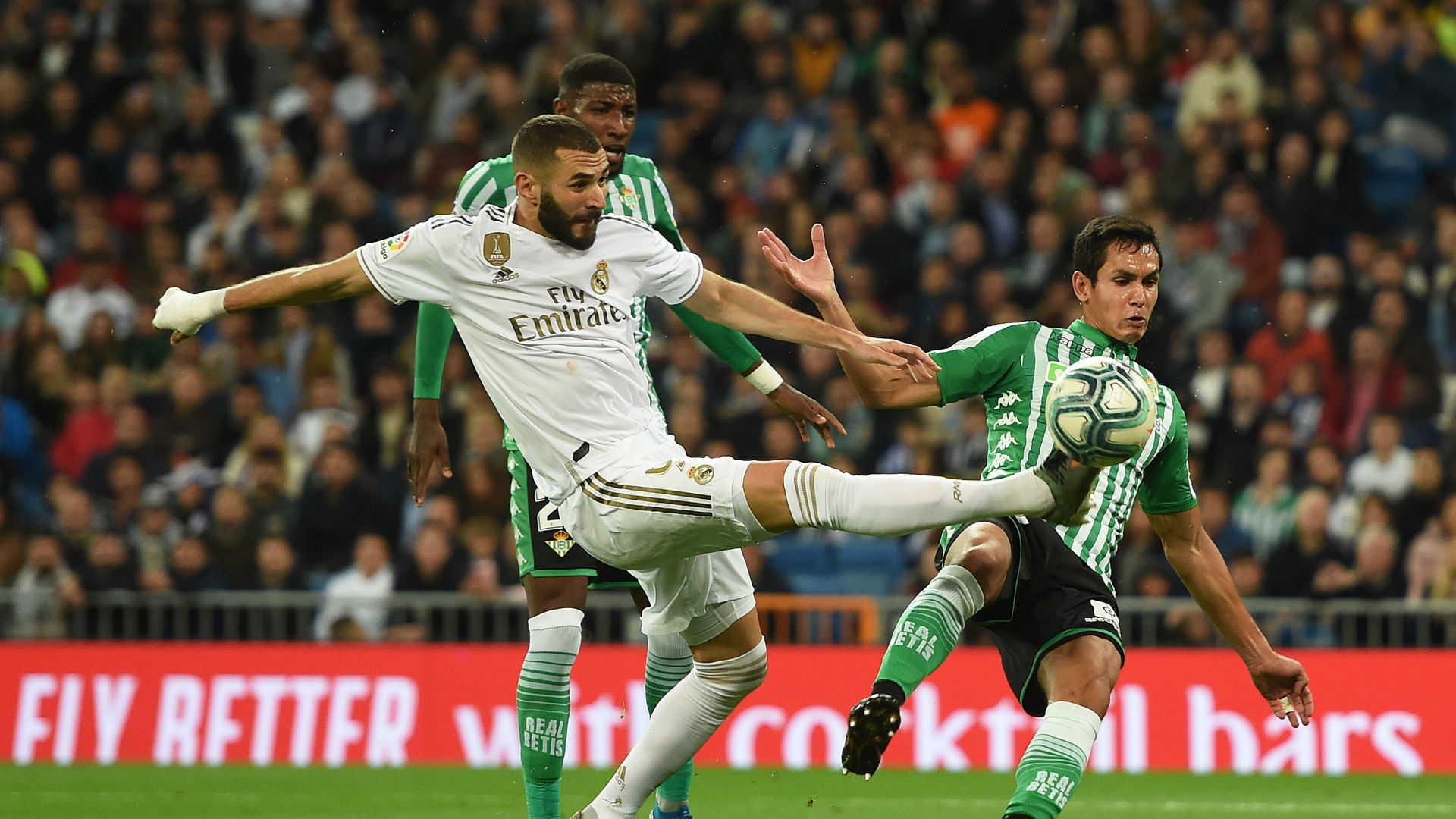 Real Madrid 0-0 Real Betis: Mendy miss costly as Los Blancos waste chance to go top