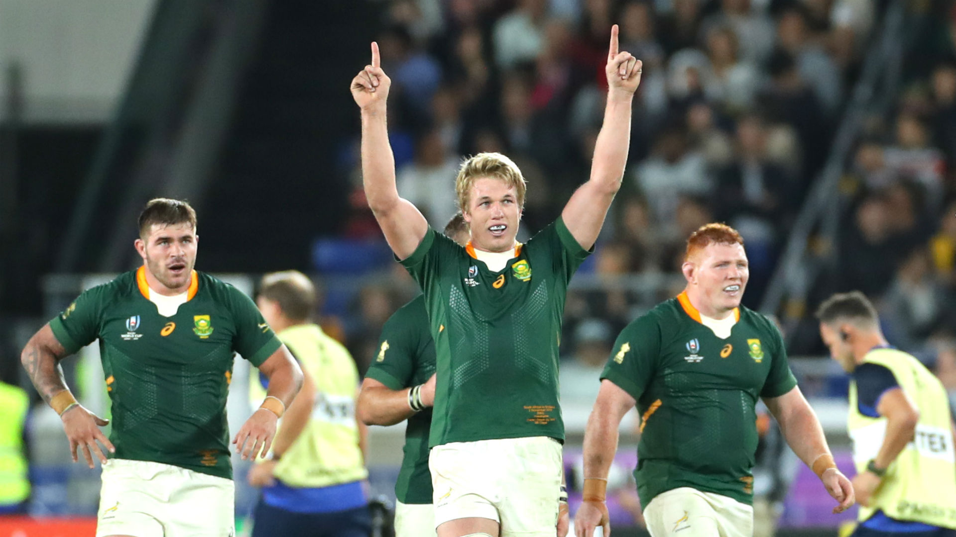 Rugby World Cup 2019: Du Toit and Erasmus land World Rugby awards
