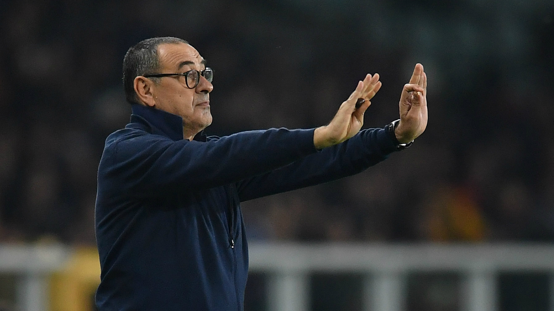 Sarri: Juventus could not be beautiful against Torino