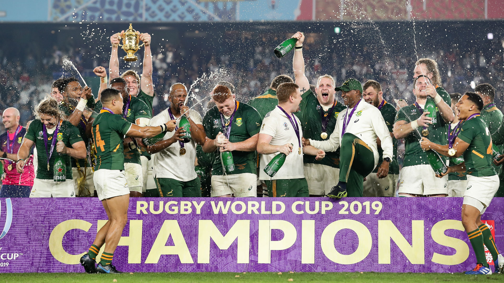 Rugby World Cup 2019: Clinical Springboks, happy hosts, Irish de ja vu – the top Opta facts
