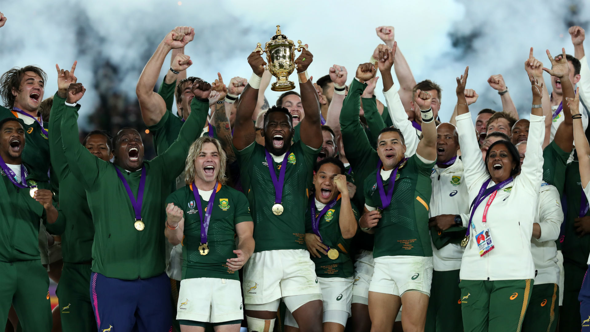 Rugby World Cup 2019: No Springboks in Opta team of the tournament
