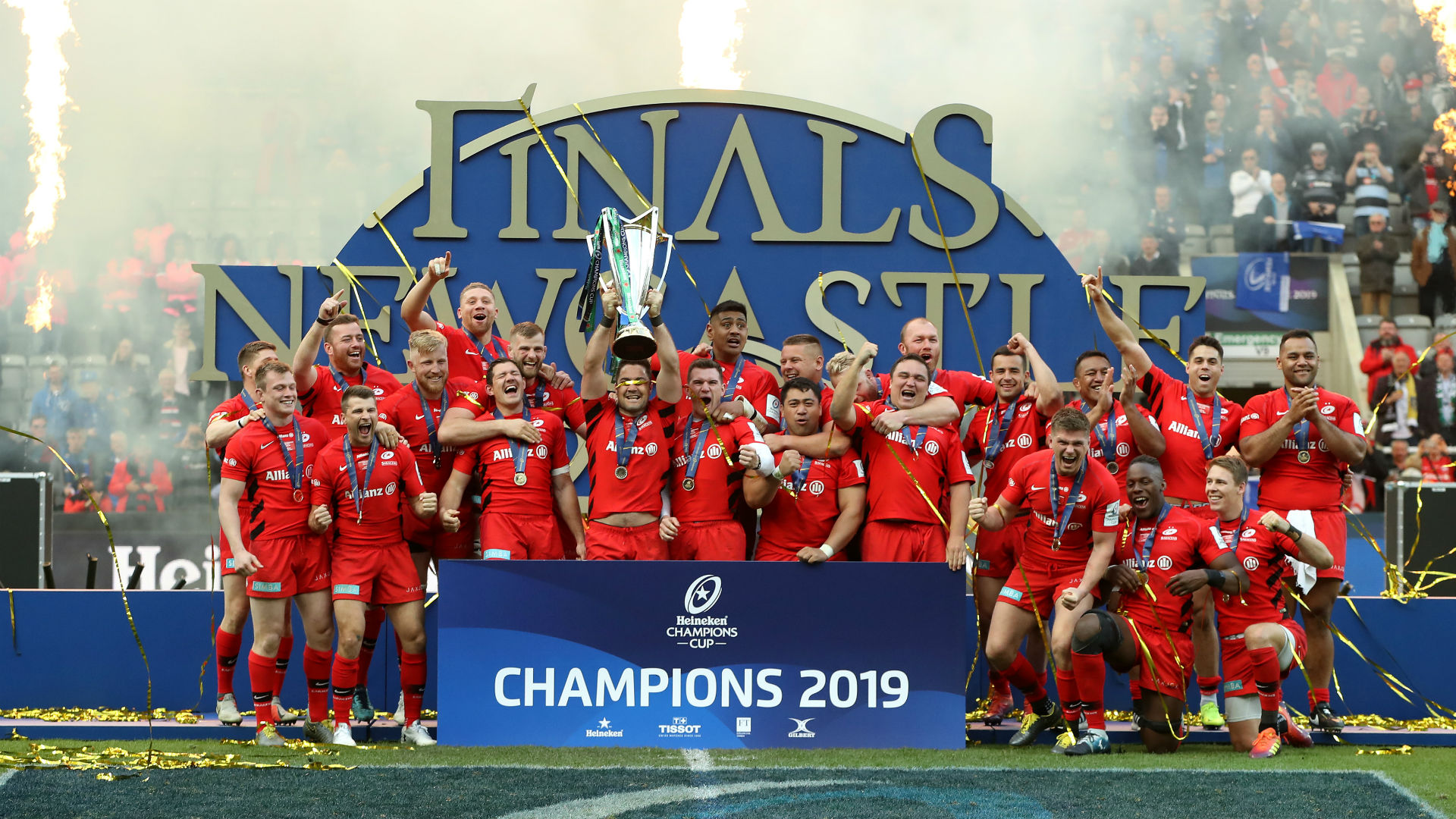 Saracens could face EPCR action for snubbing Champions Cup launch