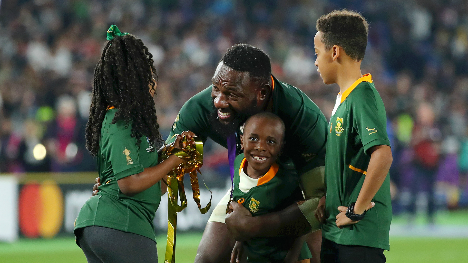 South Africa great Tendai Mtawarira retires from Springboks after World Cup 'perfect ending'