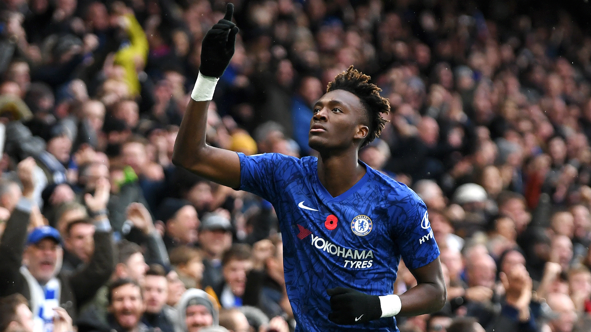 Chelsea 2-0 Crystal Palace: Abraham reaches 10 Premier League goals as Lampard's men go second