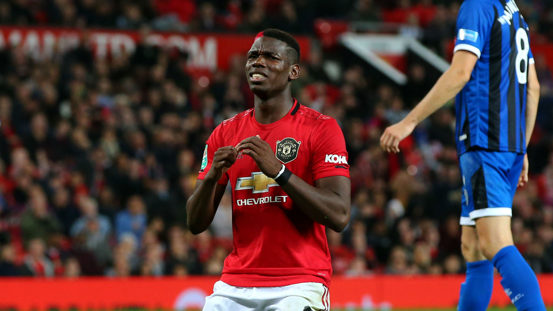 Manchester United star Pogba offers injury update