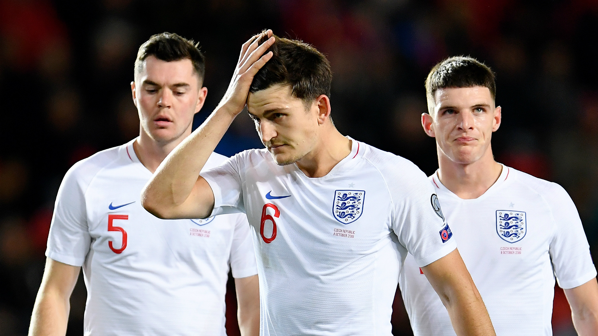 England not good enough in Prague loss - Southgate