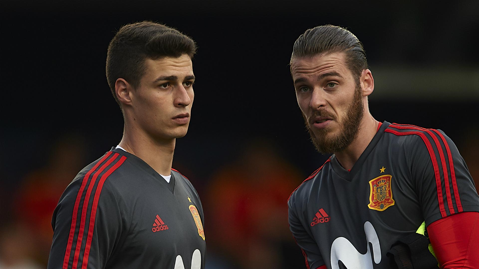 Kepa: De Gea rivalry is healthy for Spain