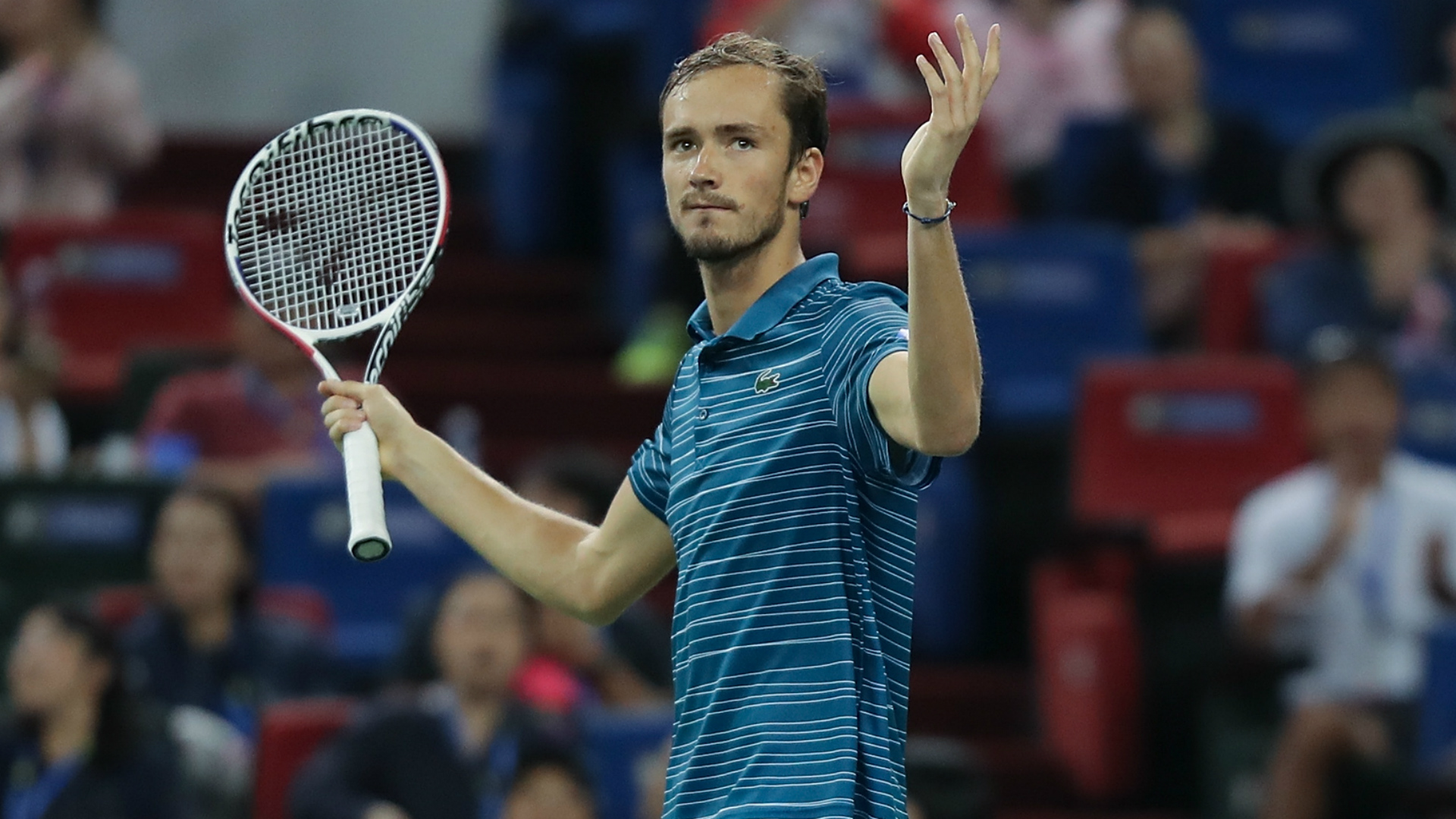 Medvedev to face Zverev in Shanghai after reaching sixth straight final