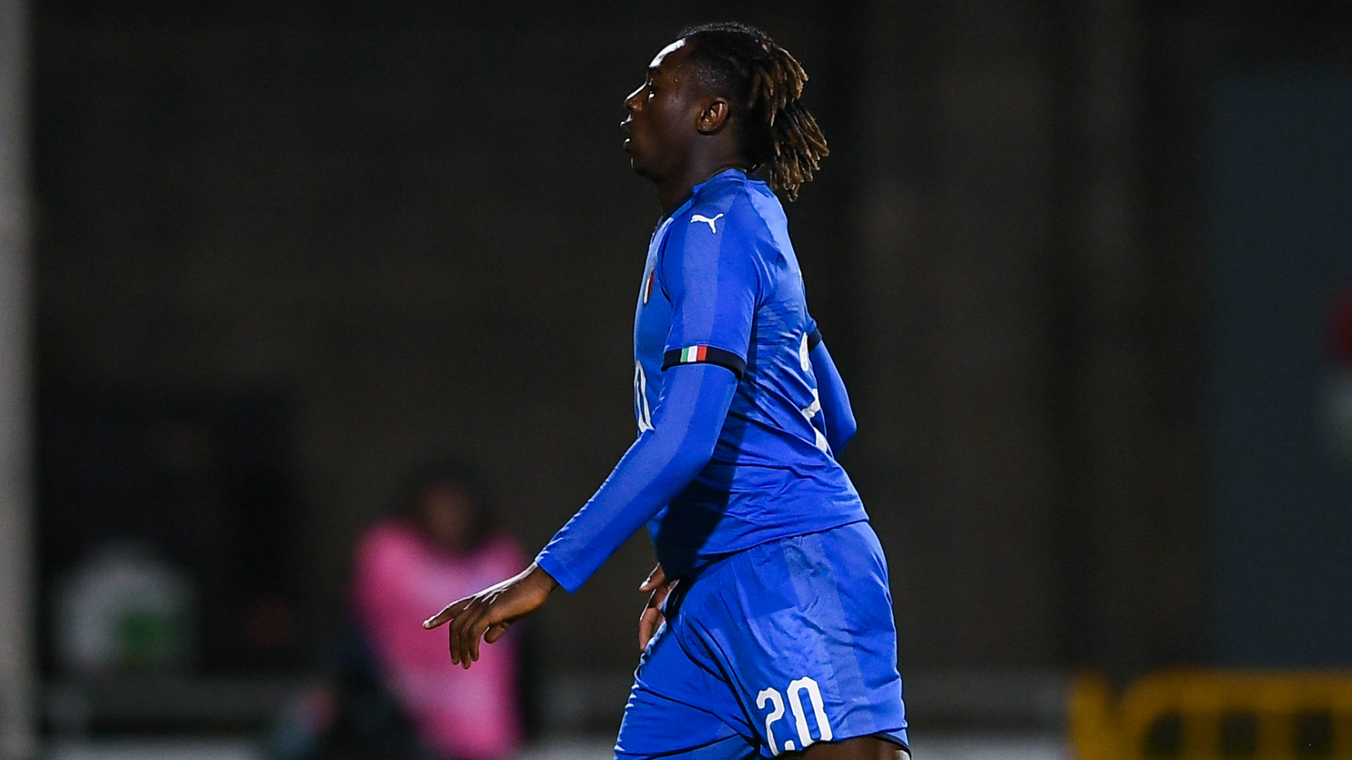Mancini warns Kean after red card in Italy Under-21 game