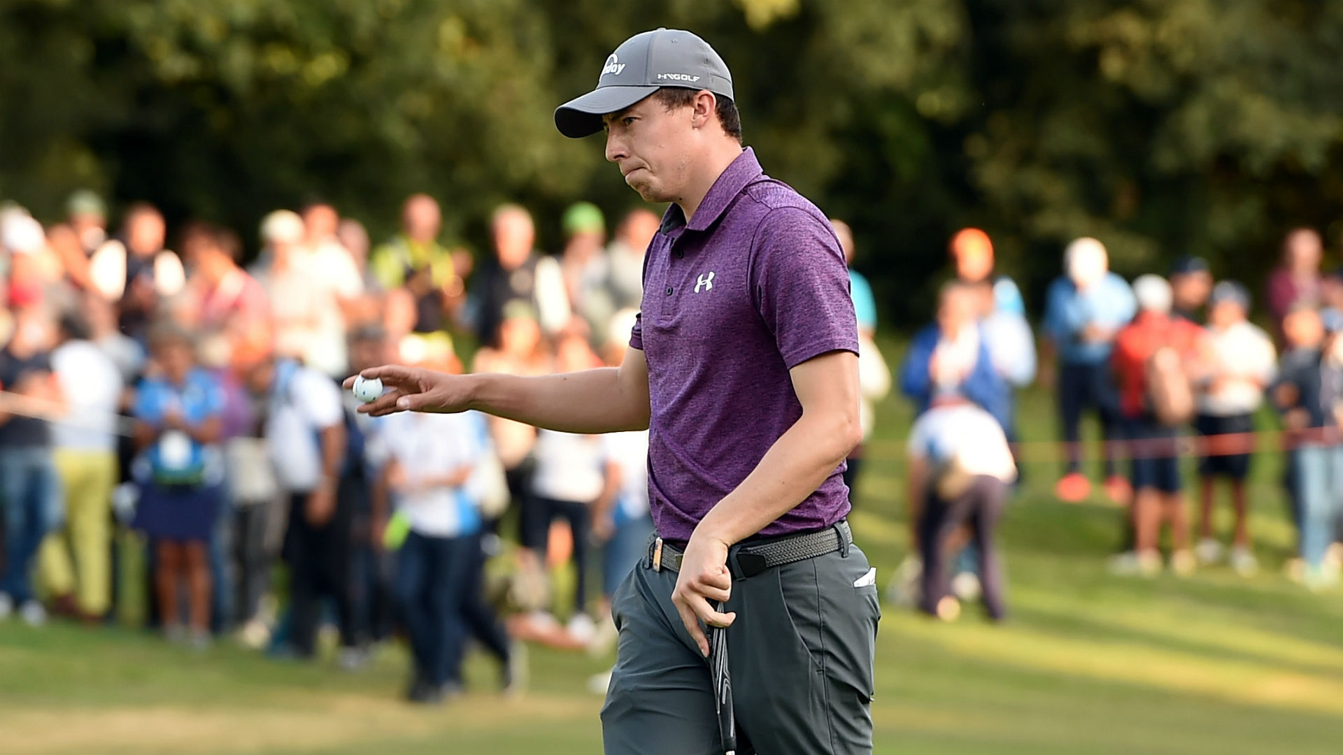 Fitzpatrick finishes strongly to regain lead in Rome