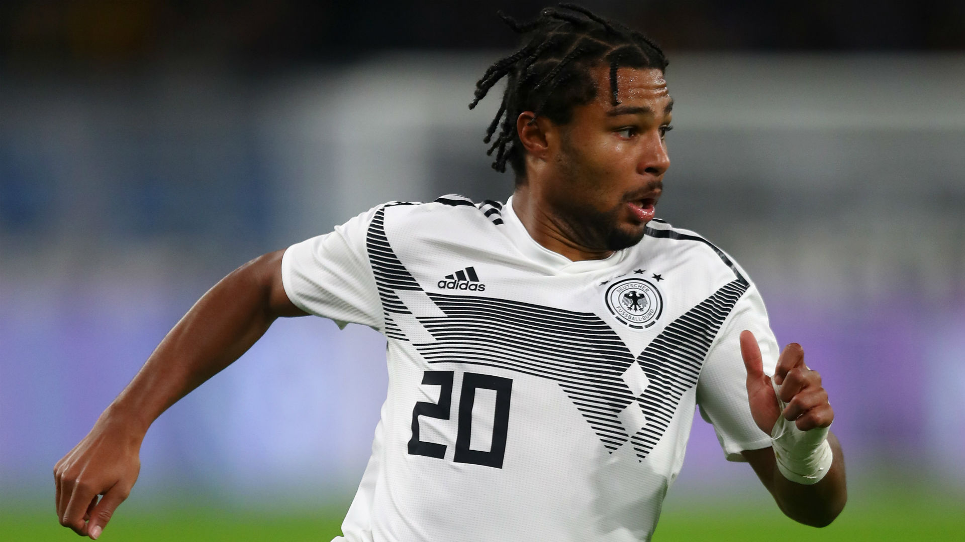 Low wanted to take 18-year-old Gnabry to 2014 World Cup